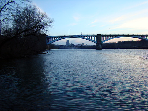 Washington Crossing Bridge from 43rd Street, Lawrenceville - March 10th 2014