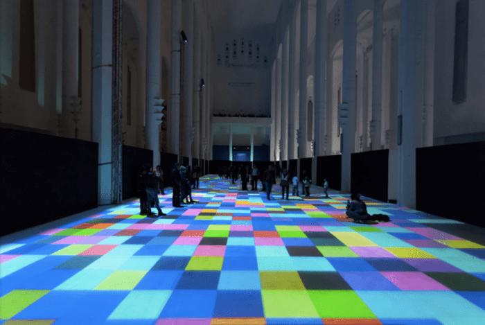 Miguel Chevalier's Magic Carpet