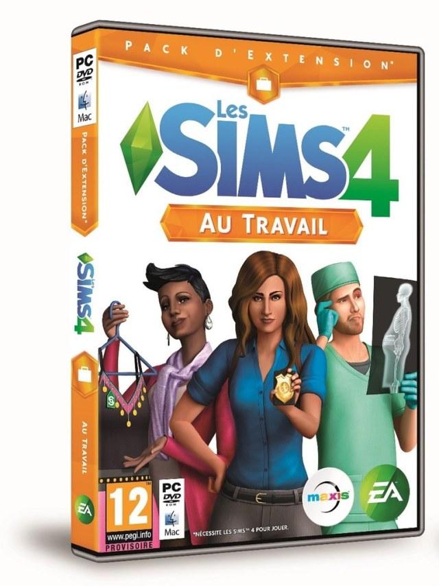 Les Sims 4 au travail