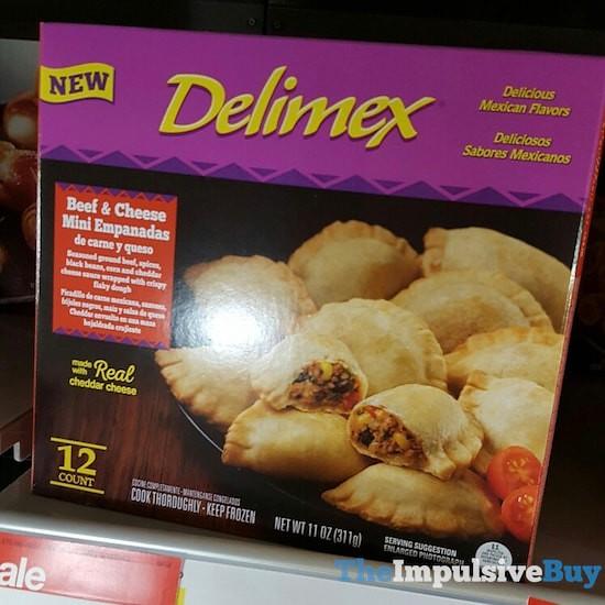 Delimex Beef & Cheese Mini Empanadas
