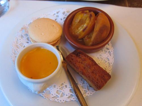 Assiette gourmande autour de l'abricot