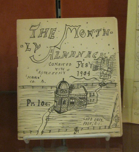 "H.P. Lovecraft's ""Rhode Island Journal of Astronomy"""