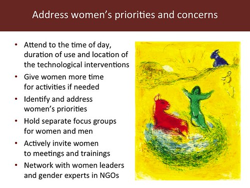 Slide 17: 'Women and Livestock', 7 Mar 2014