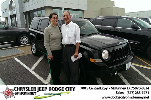 Thank you to Jafar & Azar Nikzad on your new 2014 #Jeep #Patriot from Joe Ferguson  and everyone at Dodge City of McKinney! by Dodge City McKinney Texas