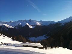 Blick ins Tal, Aufstieg Hoher Mann Gsiesertal