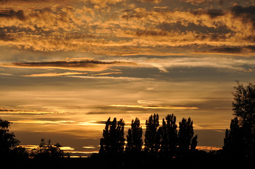 Sunset over Canterbury by patrickdevries2003