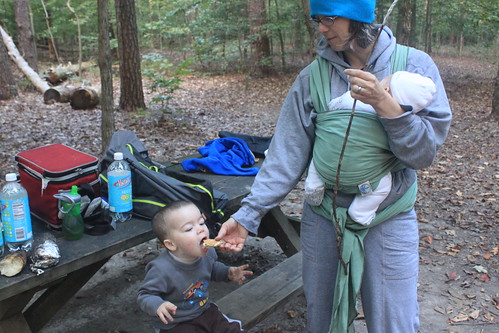 Camping at Prince William Forest Park - Vicky Feeds Sagan Smore