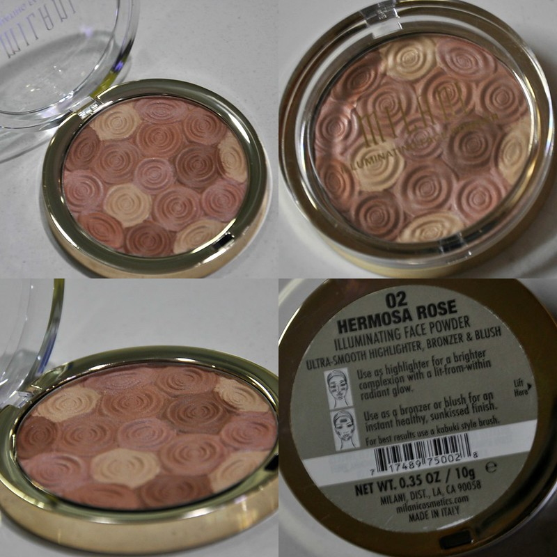 Milani Hermosa Rose Illuminating Face Powder Powder