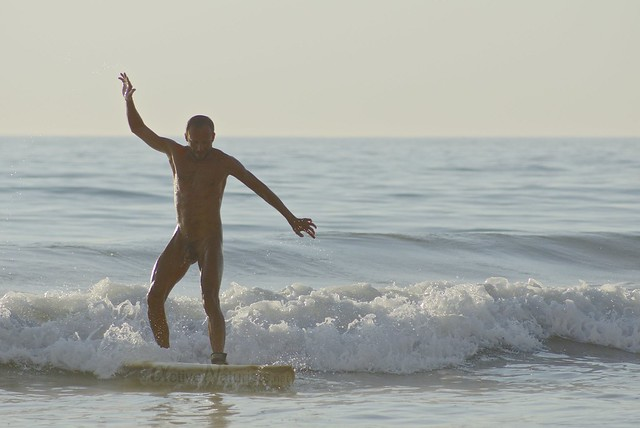 naturist surfers 0006 Blacks Beach, San Diego, CA, USA