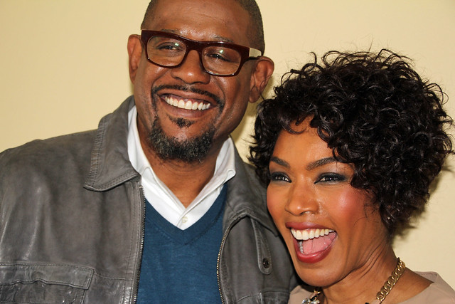 Forest Whitaker & Angela Bassett