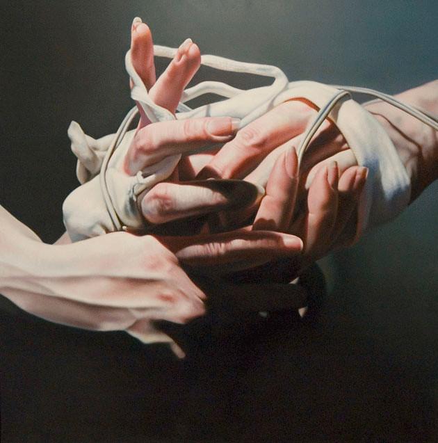 Painting by István Sándorfi