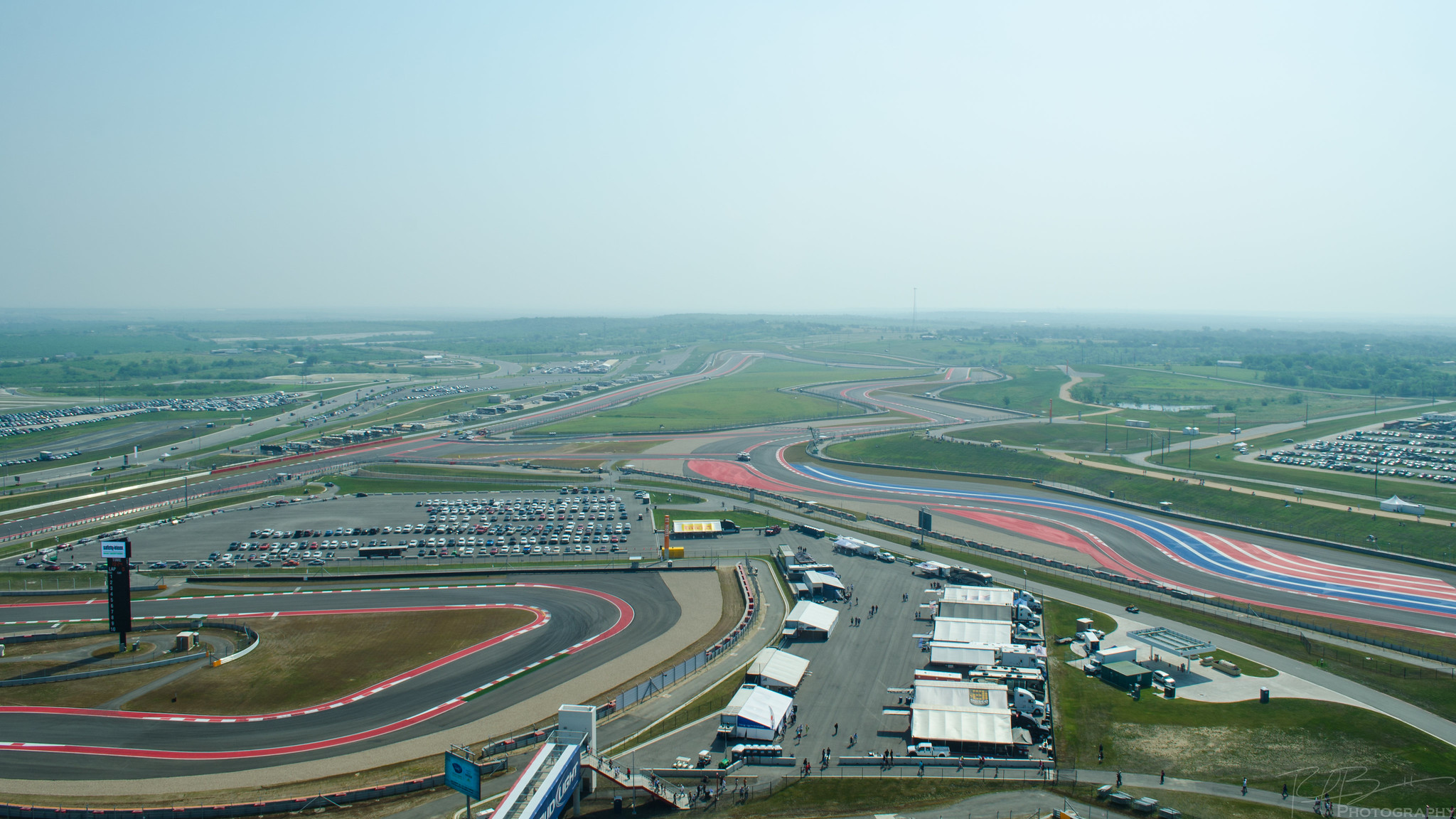 Looking towards Turn 11
