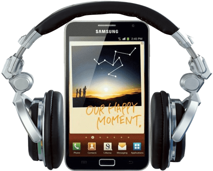 Samsung Galaxy Note audiobook