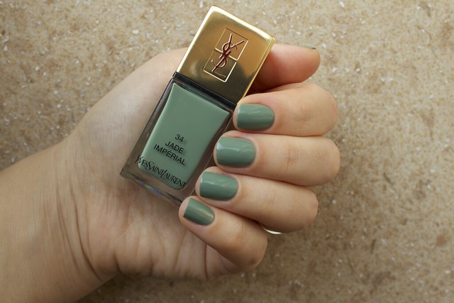 02 YSL Jade Imperial swatches
