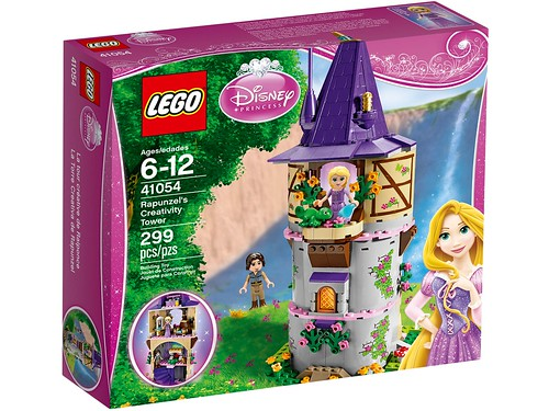 41054 Rapunzel's Creativity Tower 1