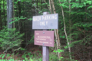 Mt. Tecumseh Trail Tripoli Sign