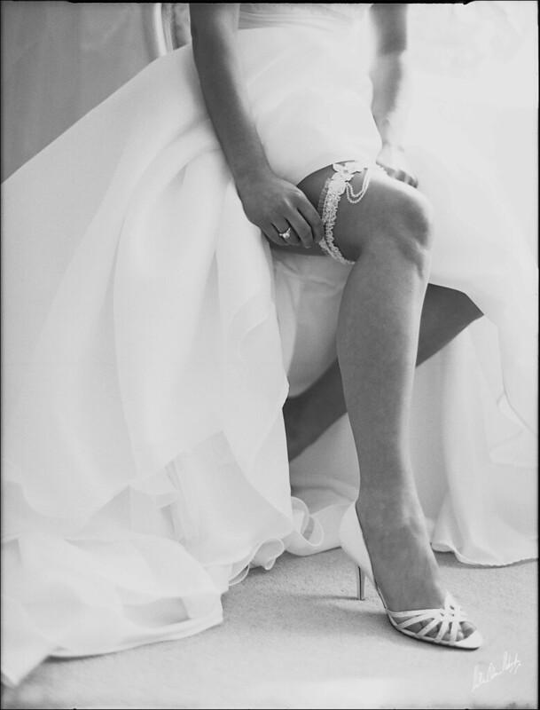 B&W Film Photography - Bridal Shoot
