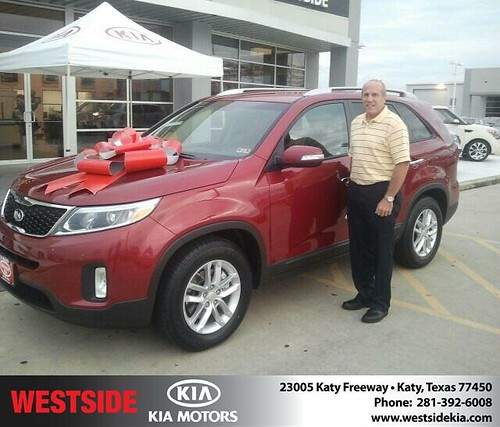 Thank you to Darwin Rod on the 2014 Kia Sorento from Gil Guzman and everyone at Westside Kia! by Westside KIA