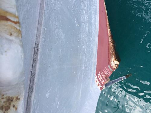 hull draft marks