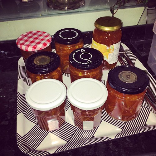 I really was just going to make a *small* batch of marmalade... Oops.