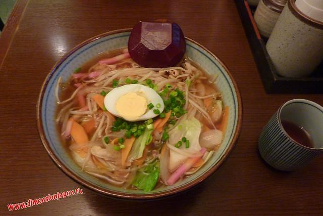 P1060623 Chanpon tamaño yonki en la estacion de Beppu (Beppu) 13-07-2010
