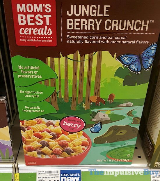 Mom's Best Cereals Jungle Berry Crunch