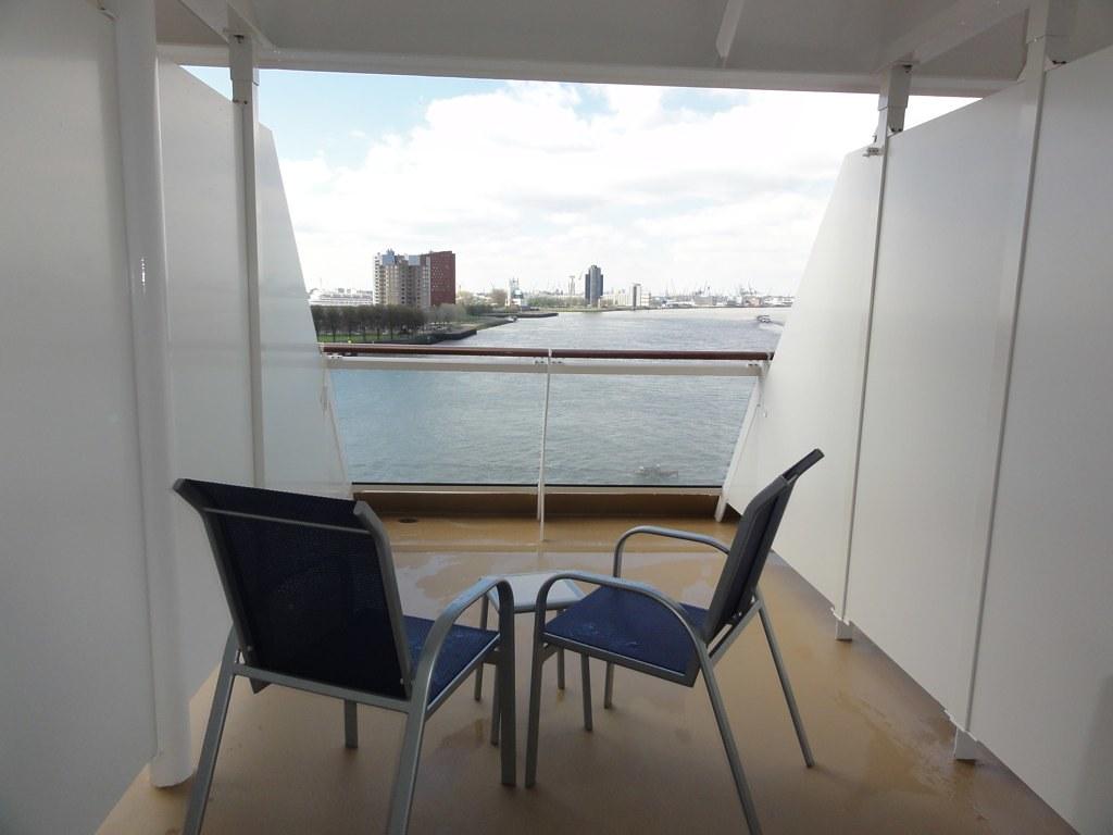 Breakaway Deck 12 stern balcony question  Cruise Critic