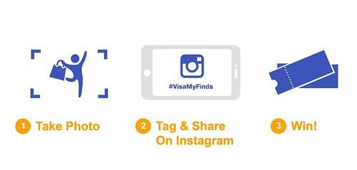 #VisaMyFinds, Asia Style Collection, Visa contest, Visa instagram contest, Asia Style Collection contest, Visa, Online shopping