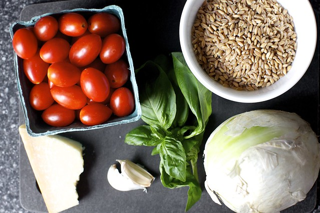 Smitten Kitchen Logo one-pan farro with tomatoes – smitten kitchen