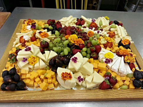 Cheese platter for social - side view by pipsyq