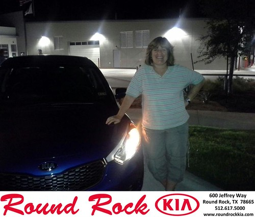 Thank you to Sheila Scarborough on your new 2014 Kia Forte from Charles Curry and everyone at Round Rock Kia! by RoundRockKia