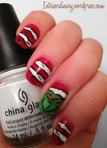 Grinch Nails by intraordinary