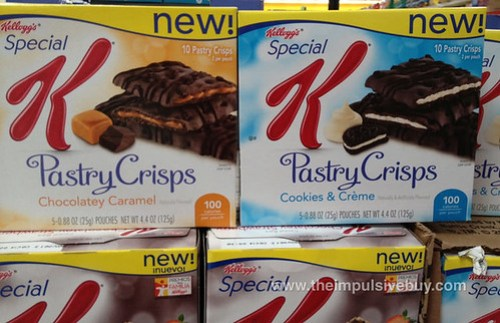 Chocolatey Caramel and Cookie & Creme Pastry Crisps