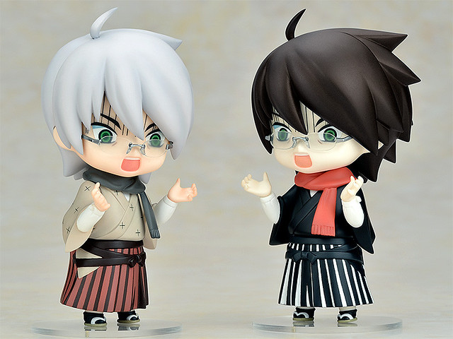 Both version of Nendoroid Itoshiki Nozomu