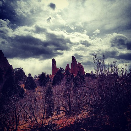 Another from Garden of the Gods #coloradosprings by @MySoDotCom
