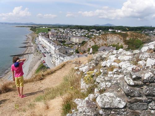 Along the coast from Criccieth Castle