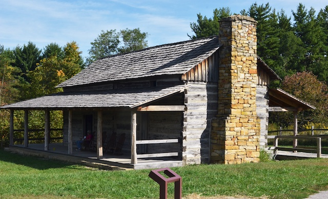 Abner Hollow Pioneer Cabin
