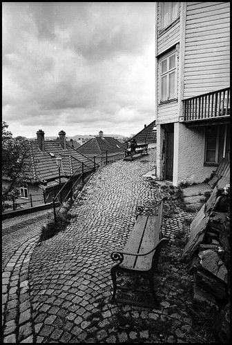Back Street Bergen 1 by Davidap2009