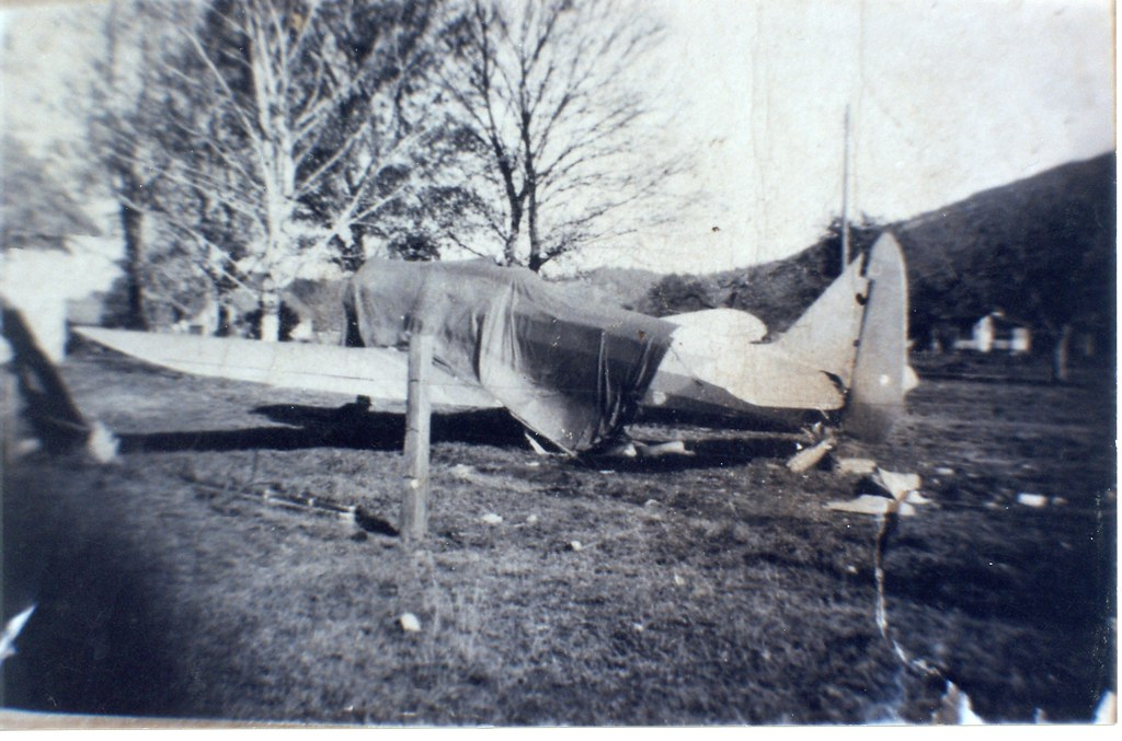 Apparently my grandpa owned a plane..