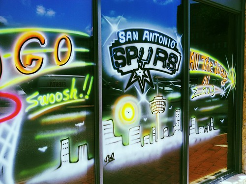 Swish!!! Go Spurs!!!