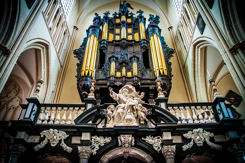 Church of St Salvador Organ, Bruges