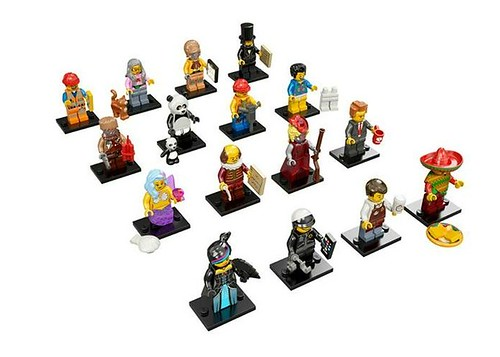 The LEGO Movie Minifigures Minifigures2