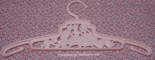 pink goldilocks hanger