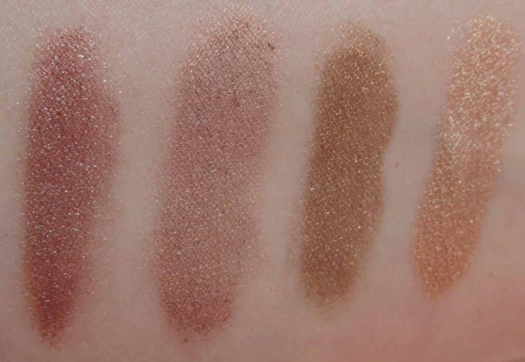 Warm Fig, Dusty Taupe, Deep Bronze, Pale Nude