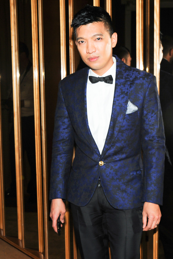 Bryanboy at the Top of the Standard for the Unofficial 2014 Met Ball After Party
