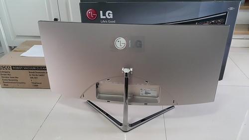 จอ LG 34UC97 21:9 Curved UltraWide ด้านหลัง
