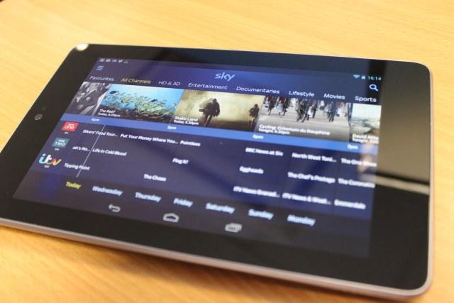 Sky+ on a Nexus 7