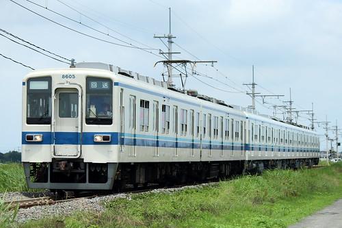 8505F+81112F @新郷〜武州荒木