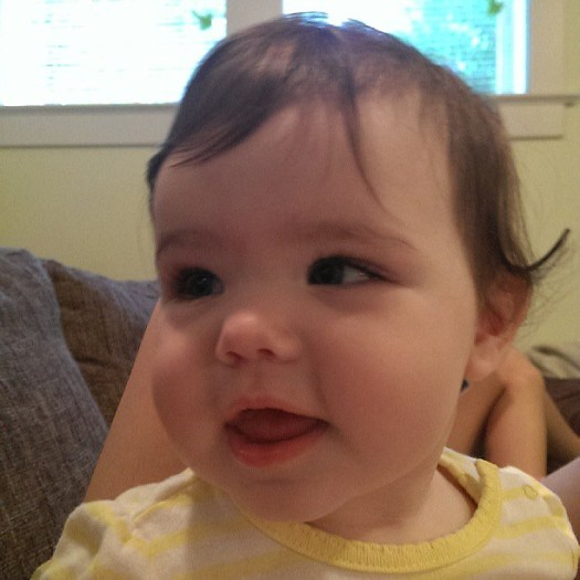 Little tooth cutter #tinybuttonsblog