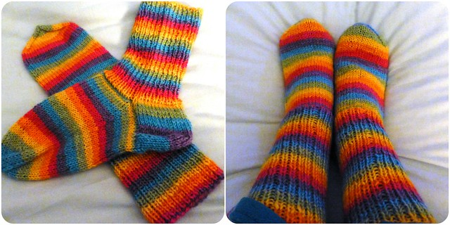 Knitted Socks from Teje